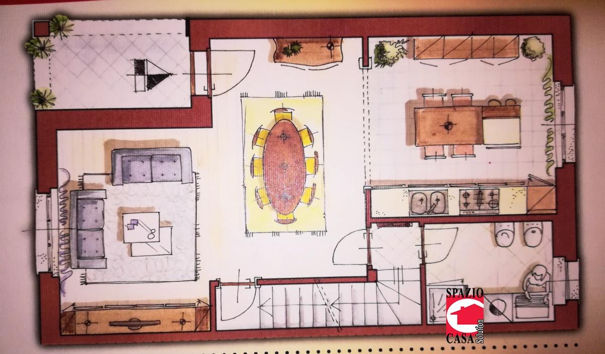Villa in vendita a Capriano del Colle, 5 locali, prezzo € 265.000 | PortaleAgenzieImmobiliari.it